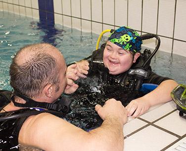 corso diving subacquea disabili