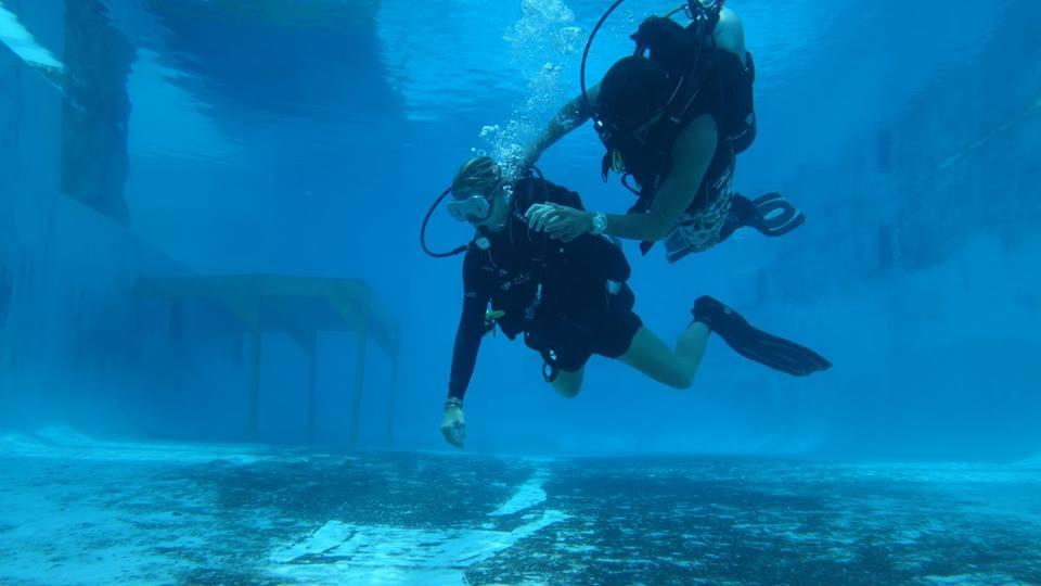 DDI blind diver exercise