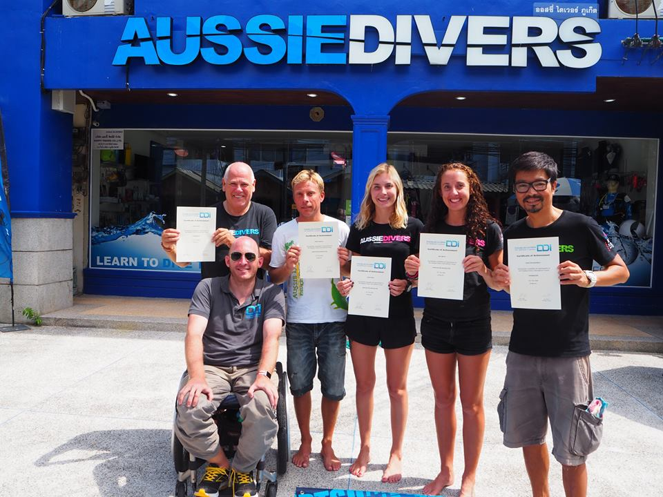 DDI Instructor course in Phuket